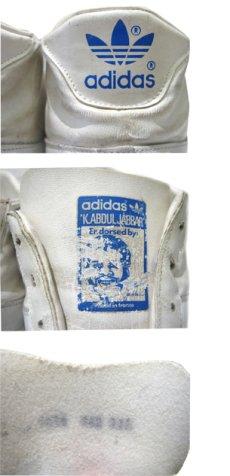 """画像4: 1970-80's adidas """"JABBAR"""" Hi-Cut Basketball Shoes made in France WHITE size 11 (表記 29 cm) (4)"""