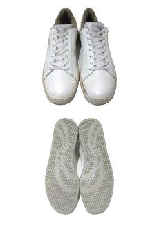 """画像3: 1980's PUMA """"First Serve"""" Leather Tennis Shoes WHITE size 11 (29 cm) (3)"""