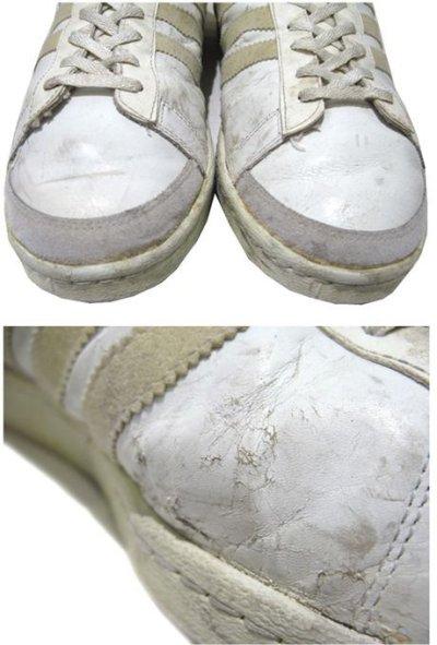 """画像3: 1970-80's adidas """"JABBAR"""" Hi-Cut Basketball Shoes made in France WHITE size 11 (表記 29 cm)"""