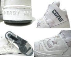 """画像5: 1990's CONS """"Star Wave"""" Basketball Shoes DEADSTOCK WHITE size 11 (29 cm)  (5)"""