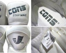 """画像4: 1990's CONS """"Star Wave"""" Basketball Shoes DEADSTOCK WHITE size 11 (29 cm)  (4)"""