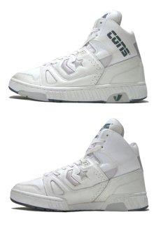 """画像2: 1990's CONS """"Star Wave"""" Basketball Shoes DEADSTOCK WHITE size 11 (29 cm)  (2)"""