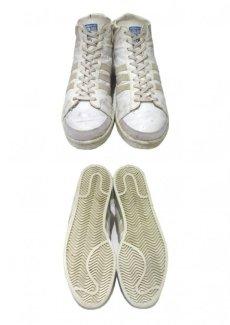 """画像3: 1970-80's adidas """"JABBAR"""" Hi-Cut Basketball Shoes made in France WHITE size 11 (表記 29 cm) (3)"""
