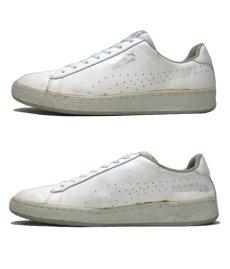 """画像2: 1980's PUMA """"First Serve"""" Leather Tennis Shoes WHITE size 11 (29 cm) (2)"""
