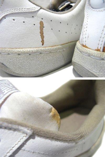 """画像1: 1980's PUMA """"First Serve"""" Leather Tennis Shoes WHITE size 11 (29 cm)"""