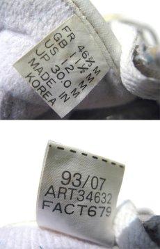 """画像4: 1990's adidas """"Super Star"""" Leather Sneaker WHITE / GREEN size 12 (30 cm) (4)"""