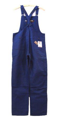 """画像2: ~1960's French """"DCM"""" Moleskin Worker Overall Dead Stock BLUE size M (表記 44) (2)"""