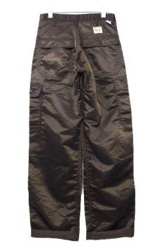 """画像2: ~1990's """"SWEET ORR"""" 6 - Pocket Nylon Trousers Dead Stock BROWN size w 29 inch (表記 w 28) (2)"""