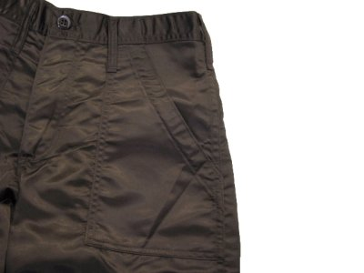 """画像2: ~1990's """"SWEET ORR"""" 6 - Pocket Nylon Trousers Dead Stock BROWN size w 29 inch (表記 w 28)"""