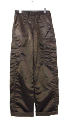 """画像1: ~1990's """"SWEET ORR"""" 6 - Pocket Nylon Trousers Dead Stock BROWN size w 29 inch (表記 w 28) (1)"""