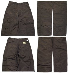 """画像5: ~1990's """"SWEET ORR"""" 6 - Pocket Nylon Trousers Dead Stock BROWN size w 29 inch (表記 w 28) (5)"""