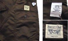 """画像3: ~1990's """"SWEET ORR"""" 6 - Pocket Nylon Trousers Dead Stock BROWN size w 29 inch (表記 w 28) (3)"""