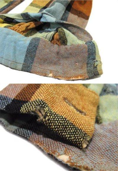 """画像3: ~1960's """"McGREGOR""""  L/S Wool Box Shirts YELLOW size L (表記 L)"""