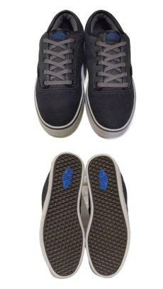 """画像3: NEW VANS """"ERA"""" Skate Shoes BLACK / GREY size 9 1/2 ( 27.5cm ) (3)"""