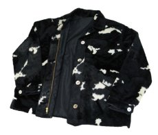 画像5: 1970's Cow Spot Pattern Box Blouson Black / White size S - M (表記 不明) (5)