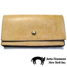 """画像1: """"JUTTA NEUMANN"""" Leather Wallet """"the Waiter's Wallet""""  color : OAK / Brown 長財布 (1)"""