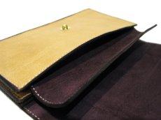 """画像4: """"JUTTA NEUMANN"""" Leather Wallet """"the Waiter's Wallet""""  color : OAK / Brown 長財布 (4)"""