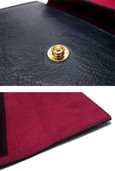 """画像1: """"JUTTA NEUMANN"""" Leather Wallet """"the Waiter's Wallet""""  color : Patagonia / Rose 長財布"""