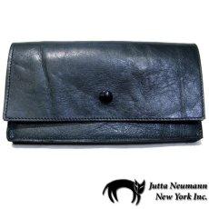 """画像1: """"JUTTA NEUMANN"""" Leather Wallet """"the Waiter's Wallet""""  color : Patagonia / Rose 長財布 (1)"""