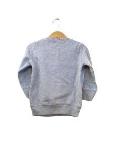 """画像2: """"ポエムのトレーナー""""  for KID'S  """" P """" Grey size  2 (80cm)  /  3 (90cm~95cm) (2)"""