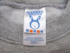 """画像4: """"ポエムのトレーナー""""  for KID'S  """" P """" Grey size  2 (80cm)  /  3 (90cm~95cm) (4)"""