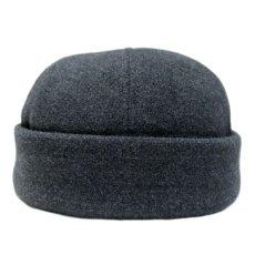 """画像1: NEW YORK HAT CO. """" WOOL BALL HAT """" Charcoal Grey (1)"""