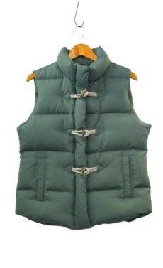 """画像4: """"J.CREW"""" Toggle Front Down Vest GREEN size M (表記 M) (4)"""