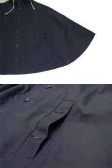 "画像4: YMC ""You Must Create London"" All Cotton Poncho NAVY size Free (表記 XXS) (4)"