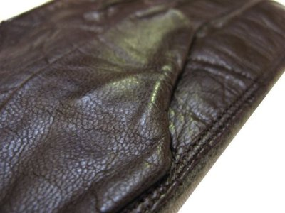 画像2: OLD Europe Leather / Wool Groves Dead Stock color : Brown / Olive