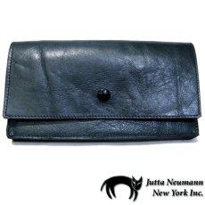 """画像1: """"JUTTA NEUMANN"""" Leather Wallet """"the Waiter's Wallet""""  color : Patagonia / Yellow 長財布 (1)"""