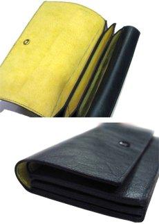 """画像5: """"JUTTA NEUMANN"""" Leather Wallet """"the Waiter's Wallet""""  color : Patagonia / Yellow 長財布 (5)"""