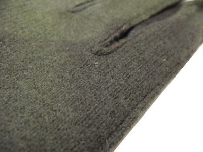 画像3: OLD Europe Leather / Wool Groves Dead Stock color : Brown / Olive