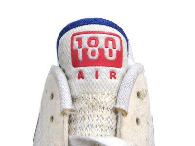 """画像1: NIKE """"AIR 180"""" Running Sneaker White / Pink / Blue size 9.5 (27.5 cm)"""