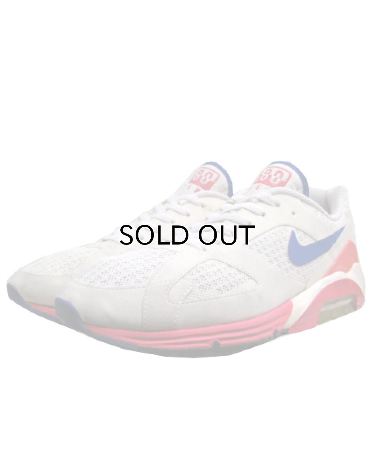 """画像1: NIKE """"AIR 180"""" Running Sneaker White / Pink / Blue size 9.5 (27.5 cm) (1)"""