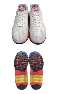 """画像3: NIKE """"AIR 180"""" Running Sneaker White / Pink / Blue size 9.5 (27.5 cm) (3)"""