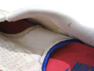 """画像2: NIKE """"AIR 180"""" Running Sneaker White / Pink / Blue size 9.5 (27.5 cm)"""
