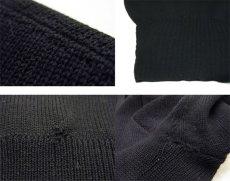 """画像5: 1950's """"Criterion"""" Lettered Wool Sweater BLACK size S (表記 不明) (5)"""