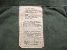 画像5: 1970's US Military Chemical Protect Linner Shirts OLIVE size M (表記 M) (5)