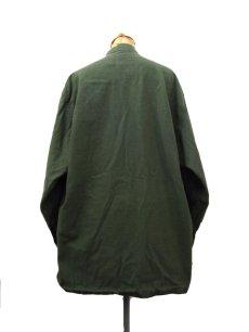 画像2: 1970's US Military Chemical Protect Linner Shirts OLIVE size M (表記 M) (2)