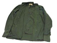 画像4: 1970's US Military Chemical Protect Linner Shirts OLIVE size M (表記 M) (4)