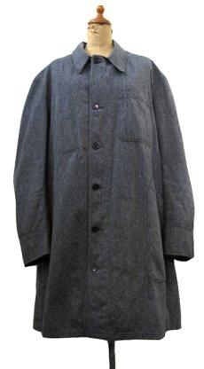 """画像1: 1950's """"French"""" Salt and Pepper Atelier Coat  size M - L (1)"""