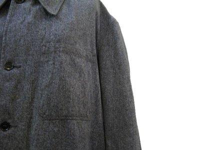 """画像2: 1950's """"French"""" Salt and Pepper Atelier Coat  size M - L"""