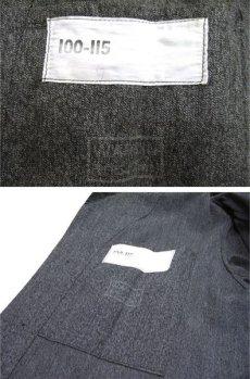 """画像3: 1950's """"French"""" Salt and Pepper Atelier Coat  size M - L (3)"""