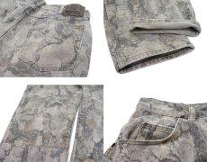 画像5: 1990's Wrangler Tree Camouflage Denim Pants Grey Beige size w 32 inch (表記 32 x 32) (5)