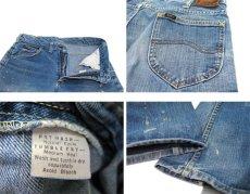 画像5: 1970's H.D.Lee Riders #200 Boots Cut Denim Pants Blue Denim size 31.5 inch (表記 不明) (5)