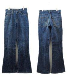 画像2: A)1970-80's Levi Strauss & Co. Lot 646 Indigo Denim Pants Indigo Blue size w 29.5 inch (表記 29 x 32) (2)