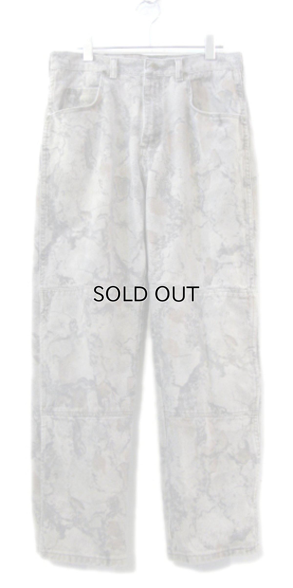 画像1: 1990's Wrangler Tree Camouflage Denim Pants Grey Beige size w 32 inch (表記 32 x 32) (1)
