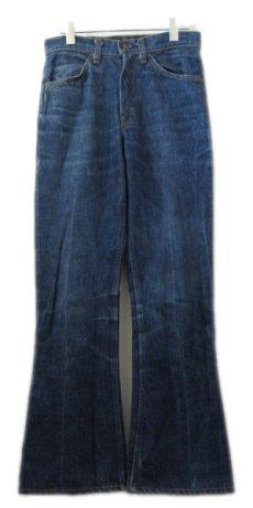 画像1: A)1970-80's Levi Strauss & Co. Lot 646 Indigo Denim Pants Indigo Blue size w 29.5 inch (表記 29 x 32) (1)