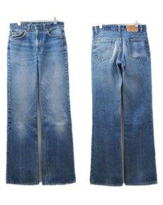 画像2: 1980's Levi Strauss & Co. Lot 517 bar-tuck Denim Pants Blue Denim size w 30.5 inch (表記 31 x 34) (2)