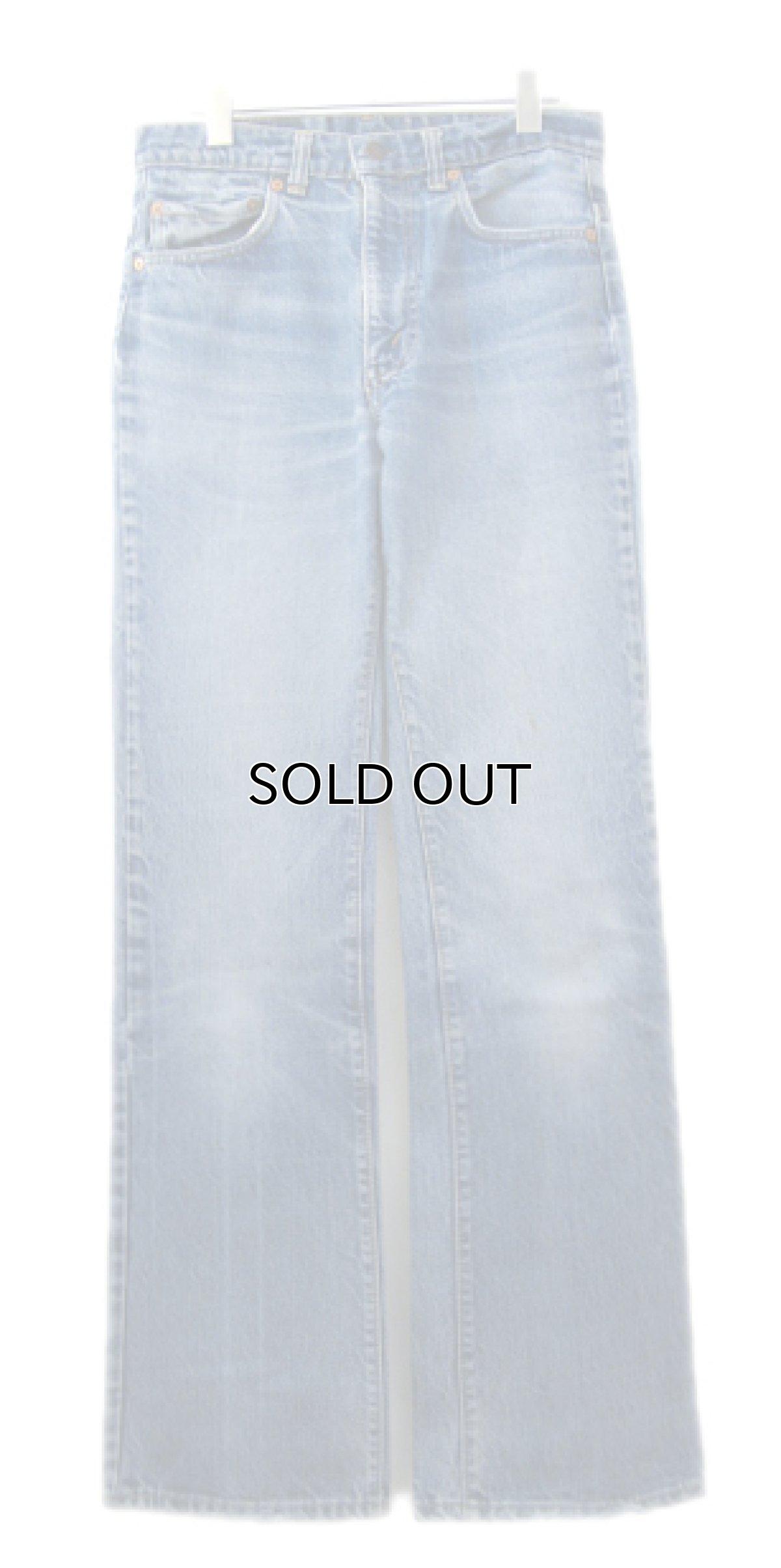 画像1: 1980's Levi Strauss & Co. Lot 517 bar-tuck Denim Pants Blue Denim size w 30.5 inch (表記 31 x 34) (1)